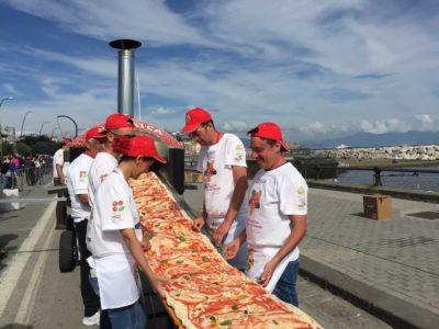 Una pizza grandissima
