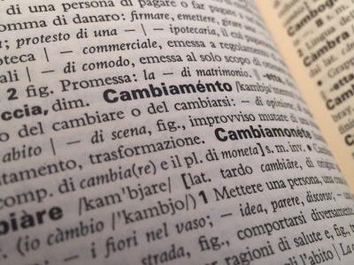 italian vocabulary words